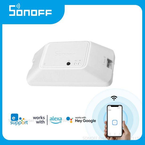 Oferta de SONOFF-interruptor inteligente R3 con Wifi por 34,24€