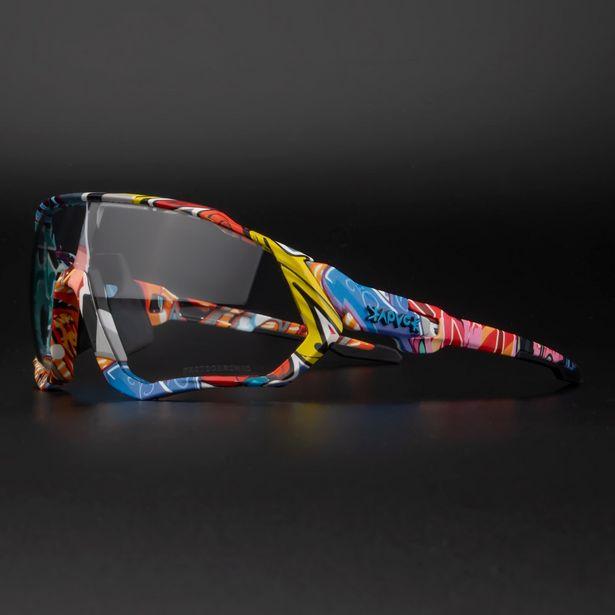 Oferta de Kapvoe-gafas de sol fotocromáticas para ciclismo por 15,7€
