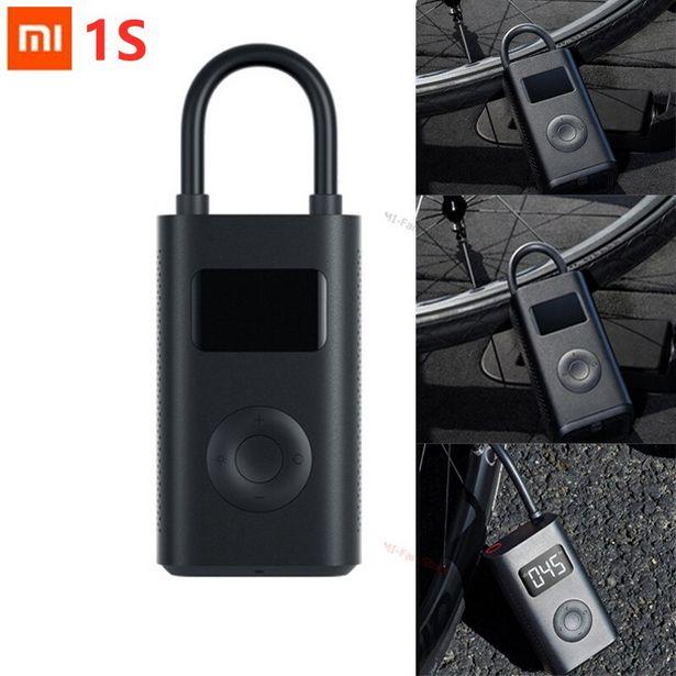 Oferta de Xiaomi Mijia-bomba de inflado eléctrica para neumáticos por 33,08€