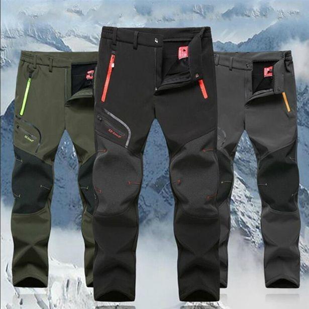 Oferta de Pantalones de invierno para hombre por 19€