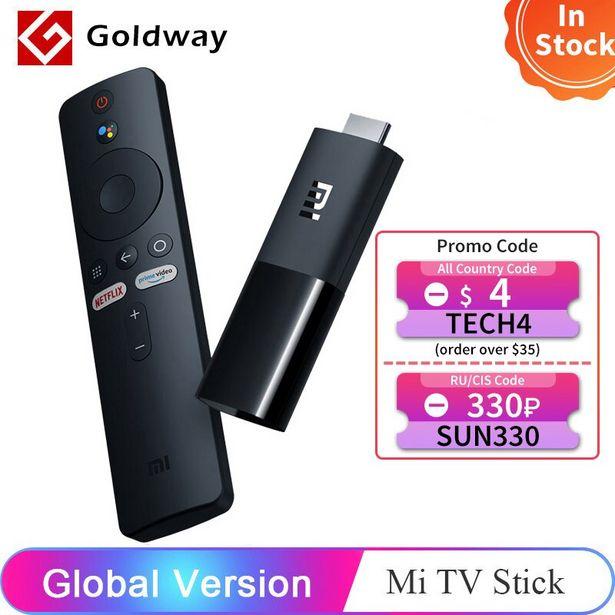 Oferta de Xiaomi-Mi TV Stick con Android 9.0 1080P versión global por 35,16€