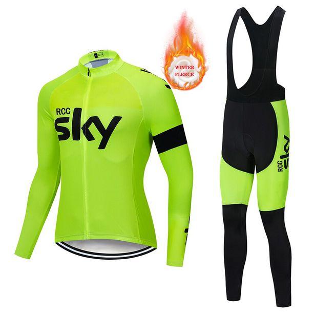 Oferta de RCC SKY-ropa térmica de lana para ciclismo por 18,05€