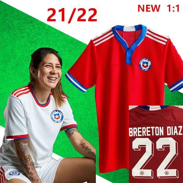 Oferta de Camiseta de fútbol de Chile 2021-22 por 18,39€