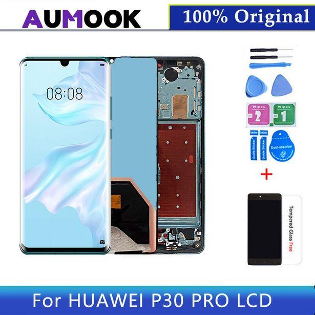 Oferta de Pantalla LCD de 100% pulgadas para Huawei P30 Pro por 105,93€
