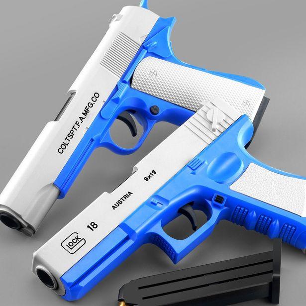 Oferta de Pistola de Fiesta al aire libre de 4 estilos para niños por 14,07€