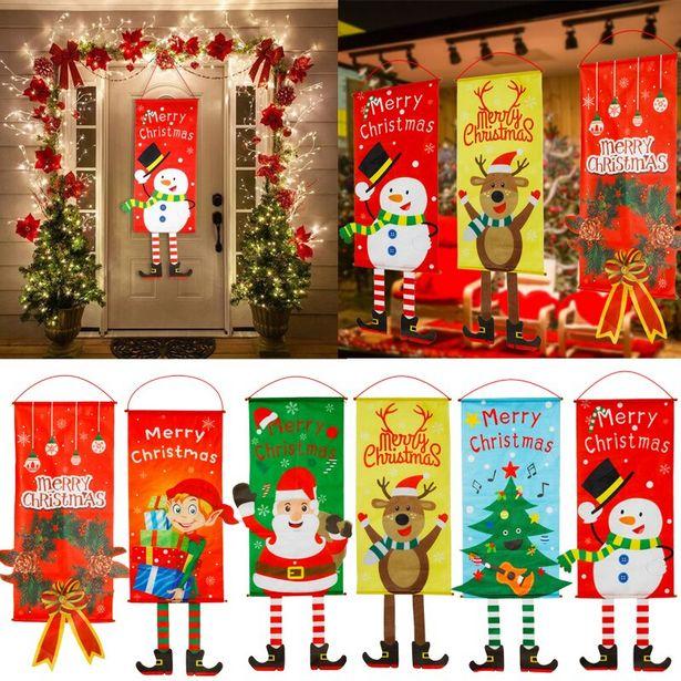Oferta de Decoración navideña de Año Nuevo por 5,09€
