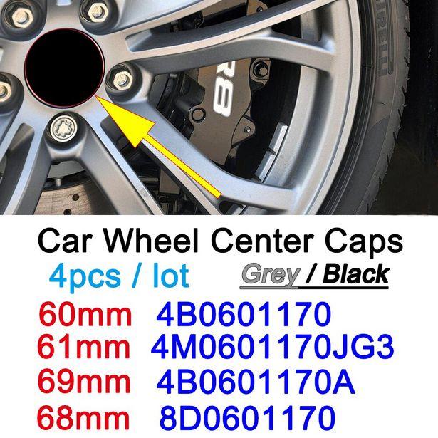 Oferta de Tapa central para rueda de coche por 7,46€