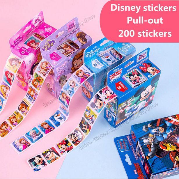 Oferta de Pegatinas de dibujos animados de Disney por 0,01€