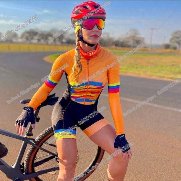 Oferta de Mono de Ciclismo de manga larga para triatlón por 30,97€