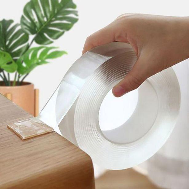 Oferta de Cinta adhesiva de doble cara transparente por 0,01€