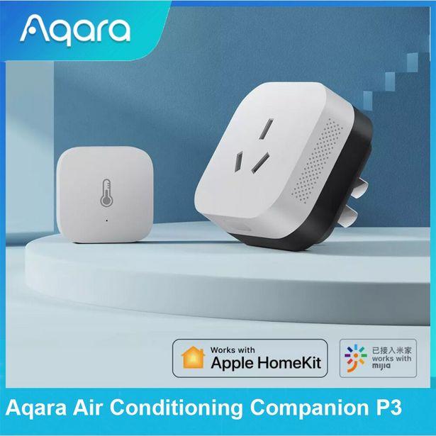 Oferta de Aqara aire acondicionado compañero P3 con temperatura Sensor de humedad Zigbee 3 0 aplicación remota Control Mijia APP HomeKit de Apple. por 40,05€