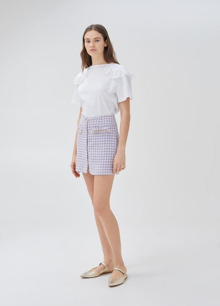Oferta de Minifalda de pata de gallo por 81,2€