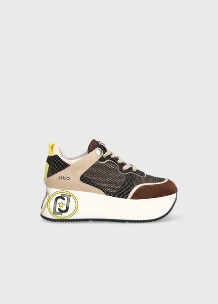 Oferta de Zapatillas con plataforma grande por 89,5€