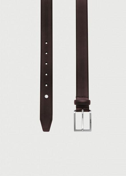 Oferta de Cinturón de piel trabajada por 39,9€