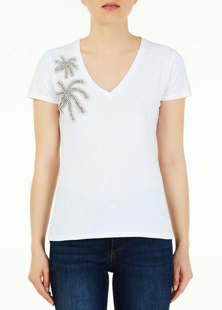Oferta de Camiseta con cuello de pico por 52€