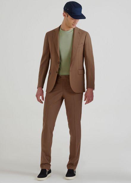 Oferta de Blazer entallado de lana virgen por 64,2€