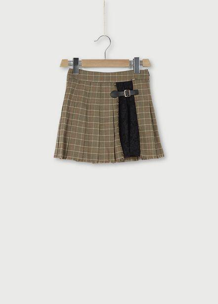Oferta de Falda plisada con encaje por 78€