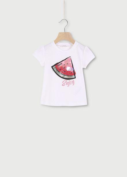 Oferta de Camiseta con estampado por 30,6€