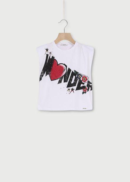 Oferta de Camiseta con estampado por 30,5€