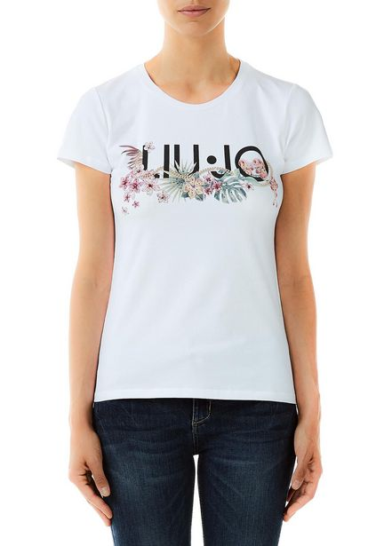 Oferta de Camiseta con estampado y aplicaciones por 41€