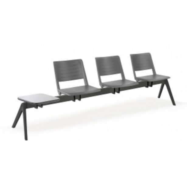 Oferta de Bancada sala de espera replay 3 asientos+mesa por 399€