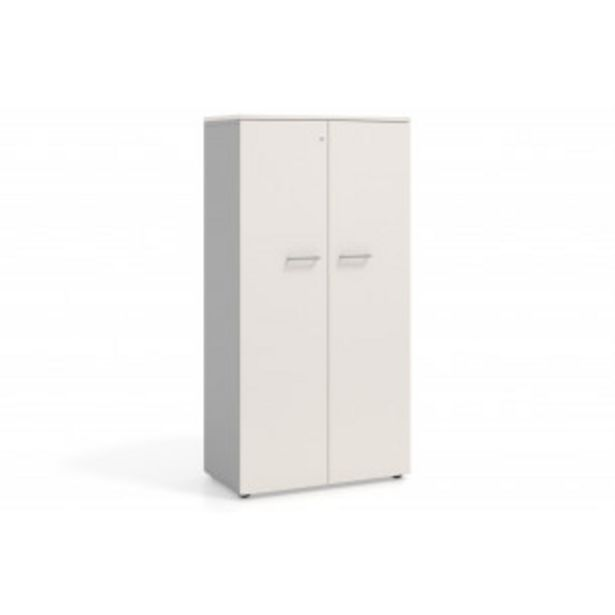 Oferta de Armario de oficina Basic 159x80 con puertas por 219€