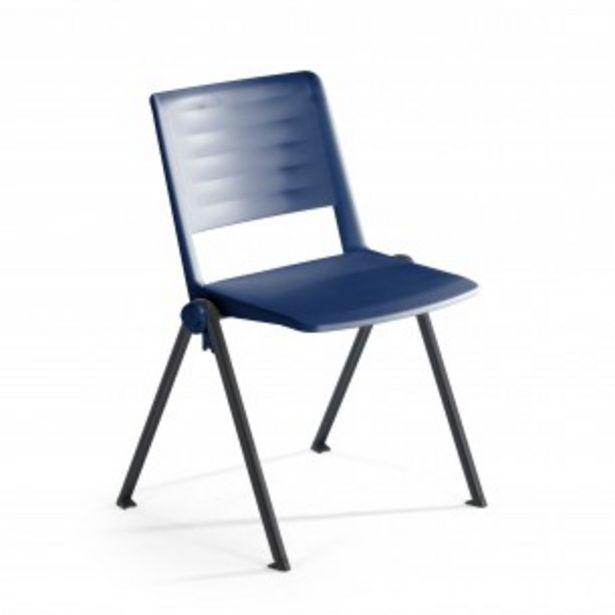 Oferta de Silla confidente Replay, 4 patas azul por 59€