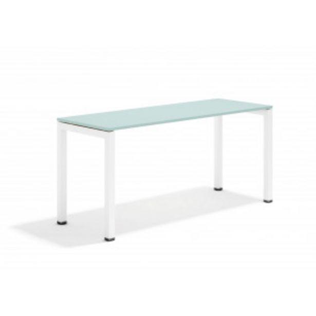 Oferta de Kubika mesa auxiliar blanco por 180,9€