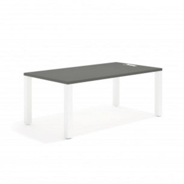 Oferta de Quadra mesa de trabajo blanco por 275,4€