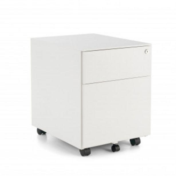 Oferta de Buc steelbox cajon/archivo blanco por 139,5€