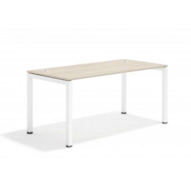 Oferta de Kubika mesa de trabajo blanco por 208,8€
