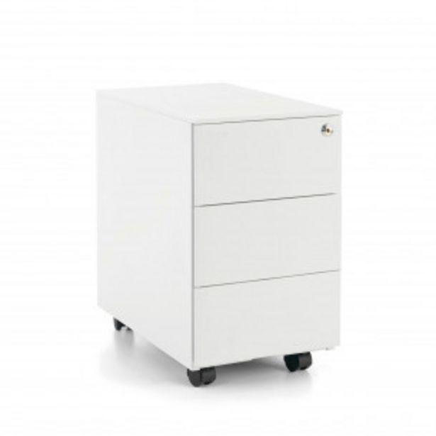 Oferta de Buc steelbox mini blanco por 134,1€