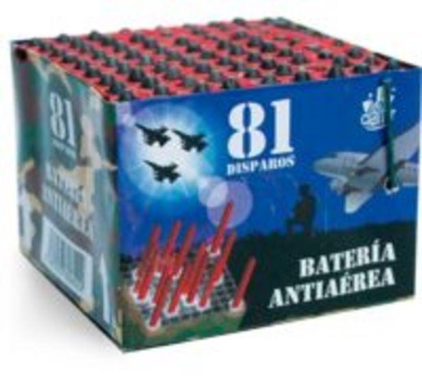 Oferta de BATERÍA 81 MISILES por 8€