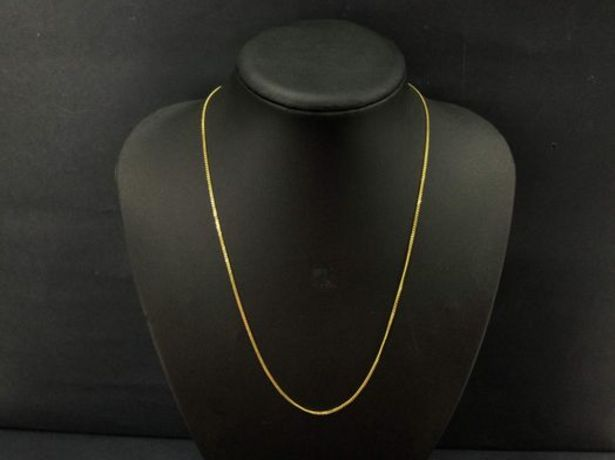 Oferta de Cadena oro primera ley (oro 18k) por 209,9€