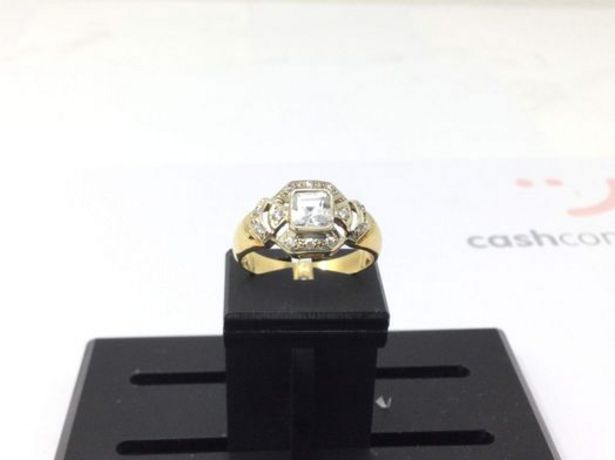 Oferta de Anillo oro primera ley (oro 18k con piedra) por 165,95€