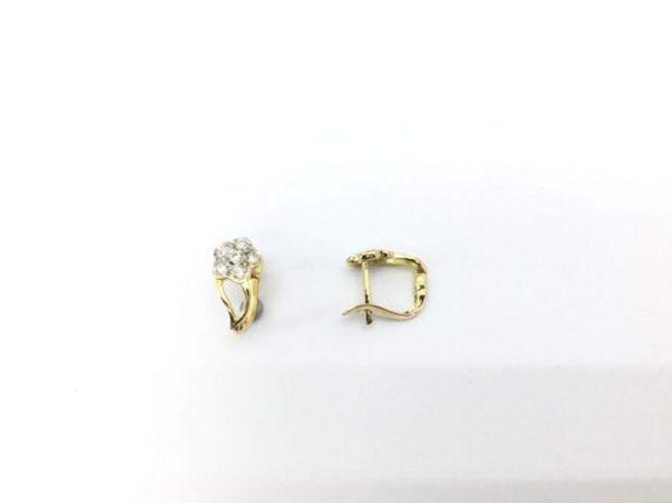 Oferta de Pendientes oro primera ley (oro 18k con piedra) por 89,95€
