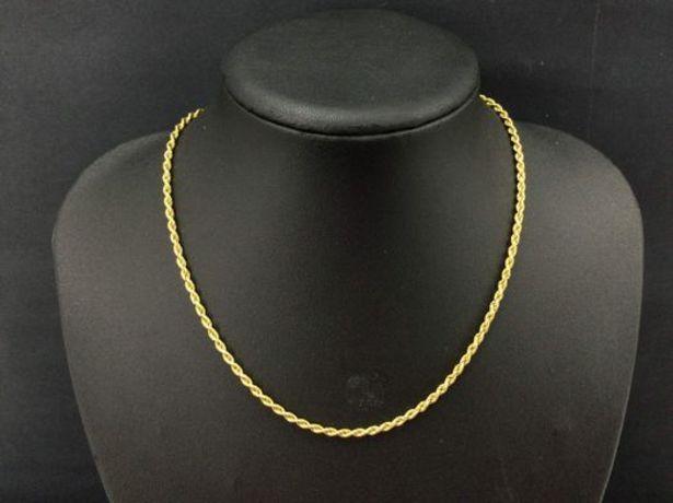 Oferta de Cadena oro primera ley (oro 18k) por 219,9€