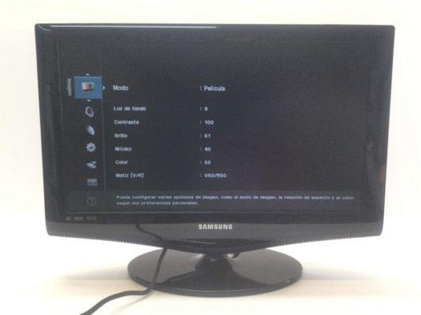Oferta de Televisor lcd samsung le22b350f2w por 51,95€