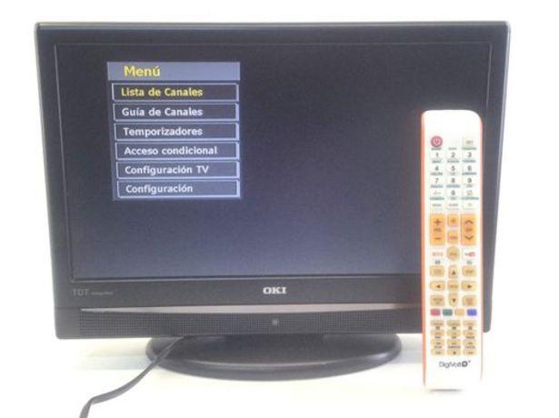 Oferta de Televisor lcd oki v16a por 55,95€