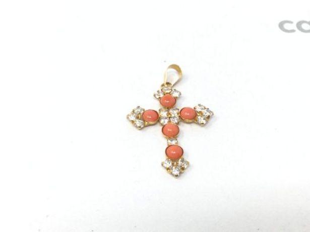 Oferta de Crucifijo oro primera ley (oro 18k con piedra) por 84,95€