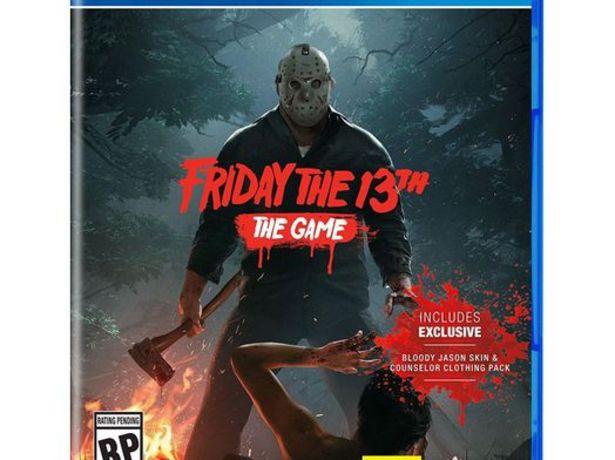Oferta de Friday the 13th: the game ps4 por 15,95€