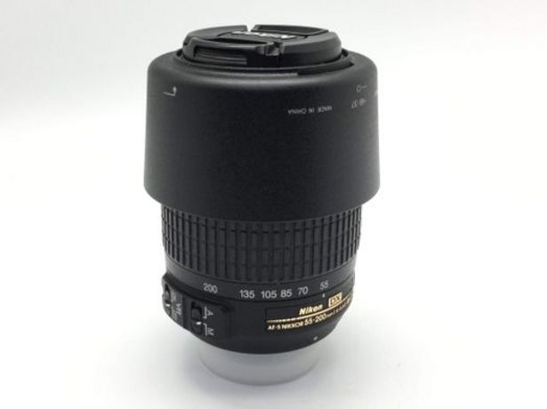 Oferta de Objetivo nikon nikon 55-200mm f/4-5.6g if-ed af-s vr dx zoom-nikkor por 125,95€