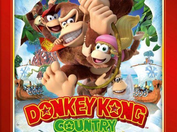 Oferta de Donkey kong country: tropical freeze selects wiiu por 22,95€