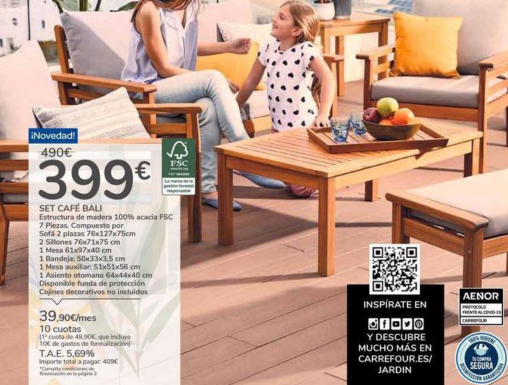 Oferta de SET CAFÉ BALI por 399€
