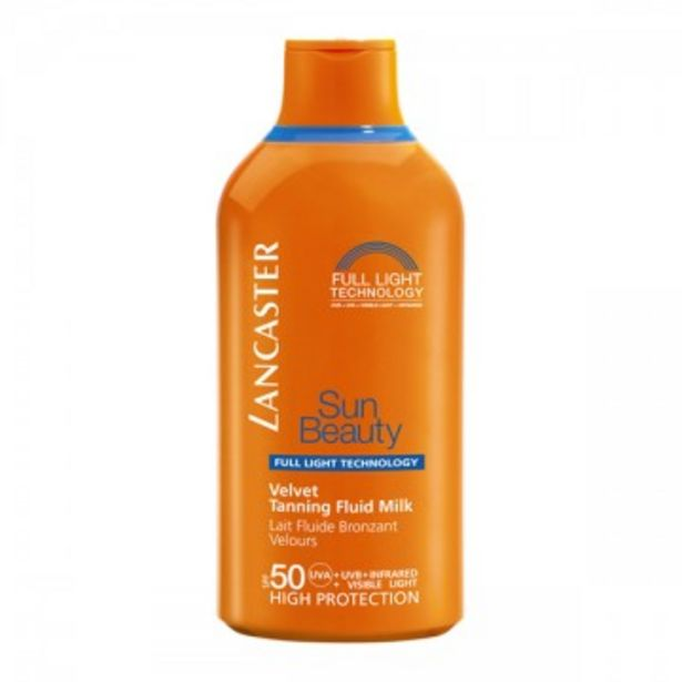 Oferta de LANCASTER - Sun Beauty Body Milk Jumbo SPF50 por 24,95€