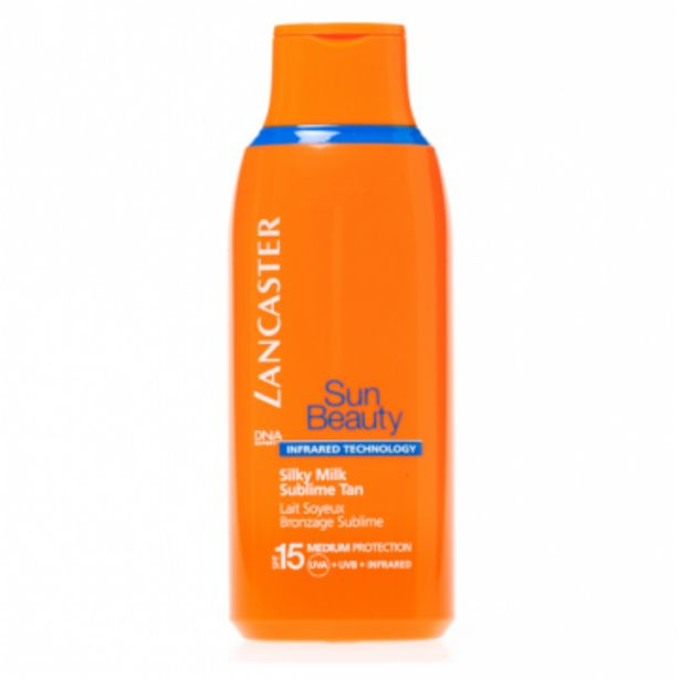 Oferta de LANCASTER - Sun Beauty Body Milk SPF 15 Jumbo por 22,95€