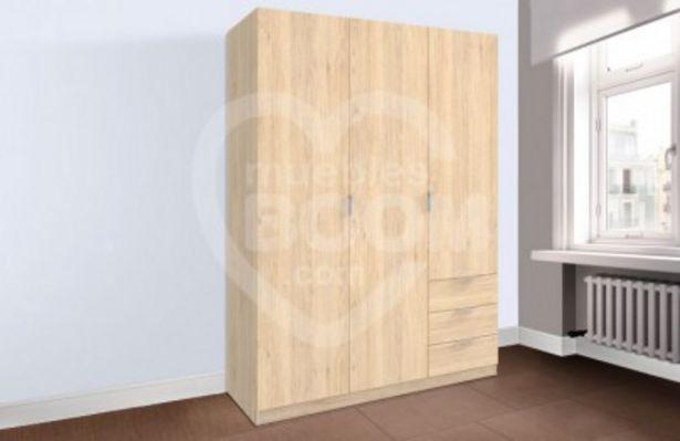 Oferta de Armario 3 puertas y cajones OFE DIA L3 por 142€