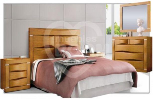 Oferta de Dormitorios matrimonio con madera 312-007 MAT MAC 02 por 1523€