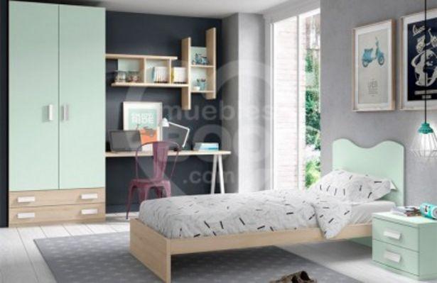 Oferta de Dormitorios juveniles con armario y zona estudio por 715€