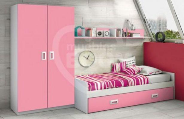 Oferta de Dormitorio juvenil completo estilo nido 012.024 por 327€